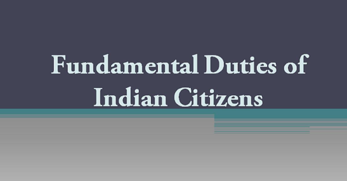 Fundamental Duties of Indian Citizens